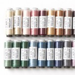 Punchneedle Thread Assortment Of 20 Colours