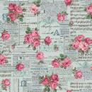 Vintage Collage Col. 102 - Cotton/Linen